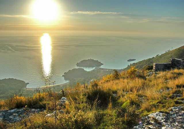 Адриатика в Черногории в сентябре