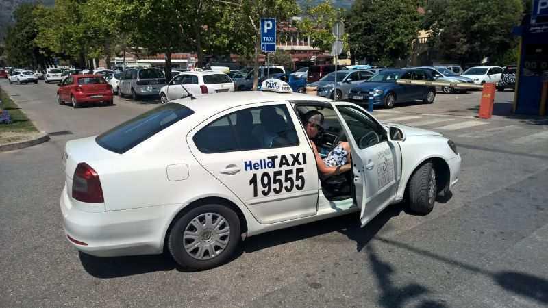 3 11 - Услуги такси в Черногории