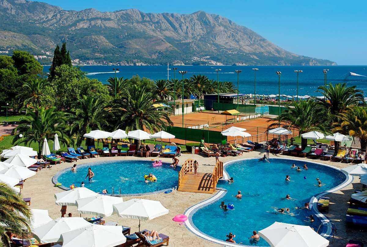 iberosrarbelevue zimaletta - Отели и гостиницы в Черногории