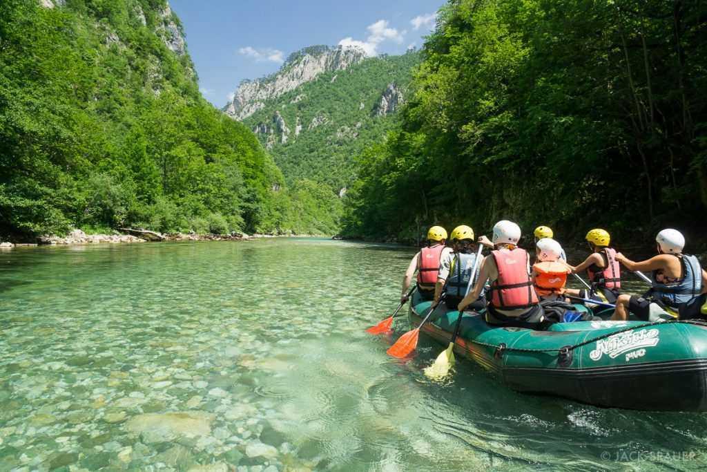 Tara River Rafting 1 1024x683 - Рафтинг в Черногории