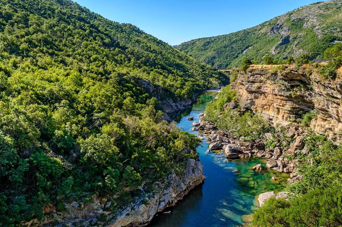 canion reki moracha - Реки Черногории