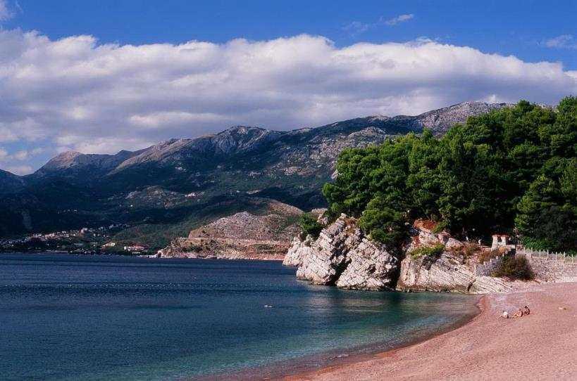 Пляжи в Баре, Черногория