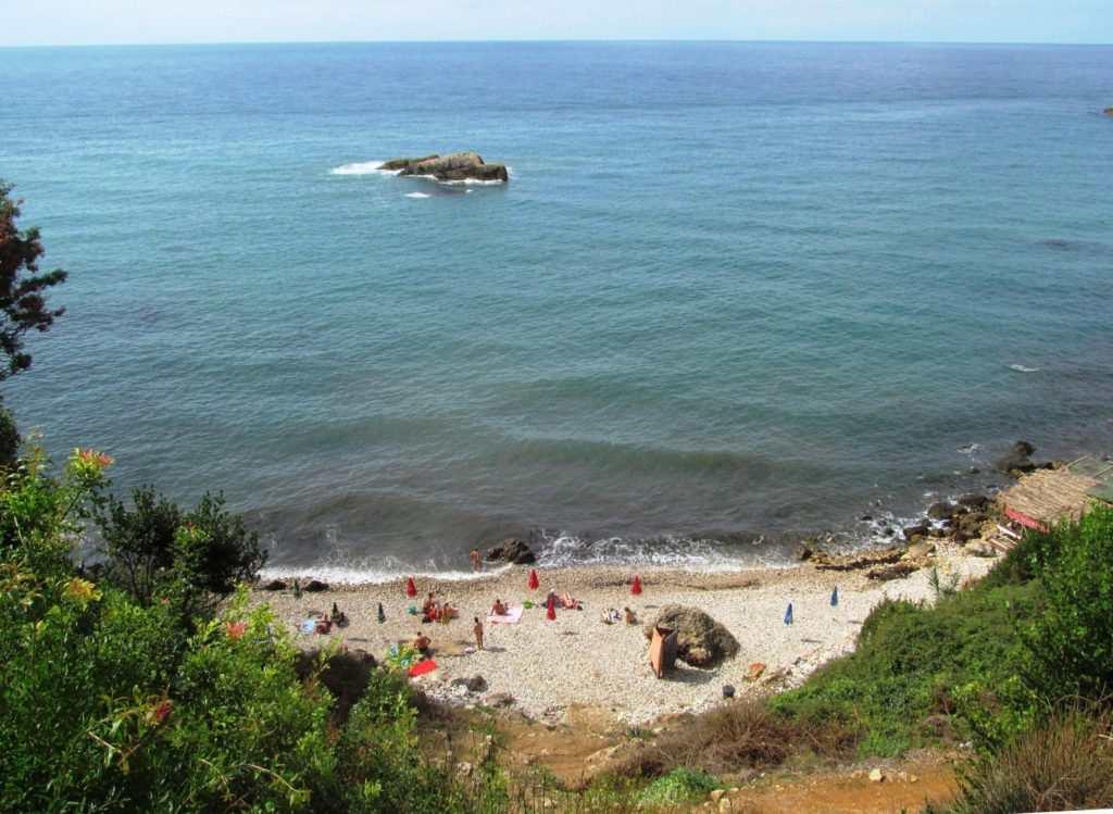 Пляжи в Ульцине - Лиман 1
