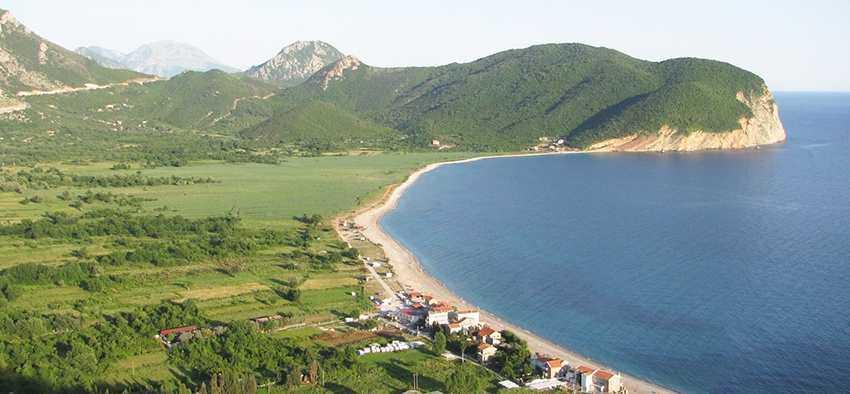 Buljarica Beach - Пляж Булярица в Петроваце