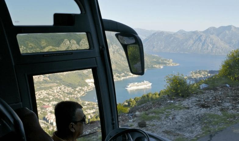 Передвижение между Будвой и городами Черногории