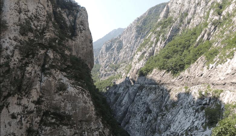 Каньон реки Морача - достопримечательность Колашина