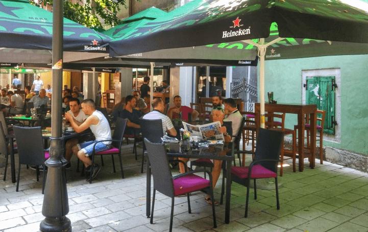 Курение в Черногории