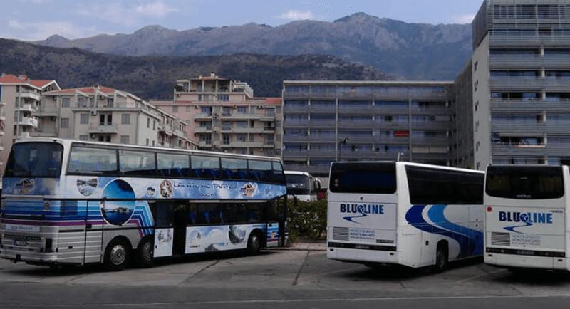 Автобусы в Будве