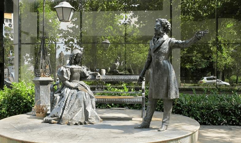 Screenshot 24 2 - Памятники Пушкину и Владимиру Высоцкому в Подгорице