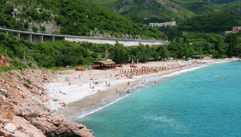 Пляжи в Бечичи