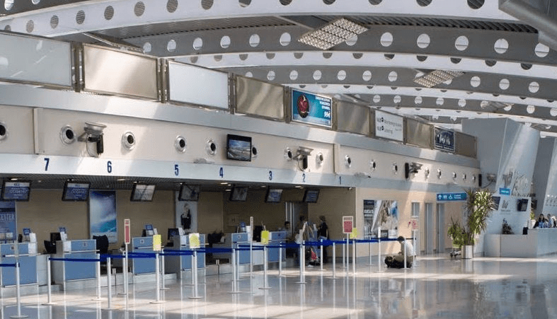 Аэропорт в Подгорице