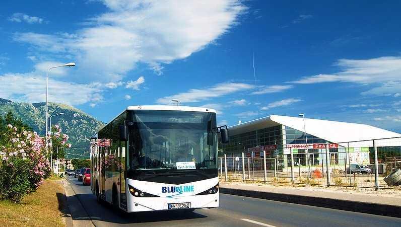 Автобусы в Подгорице