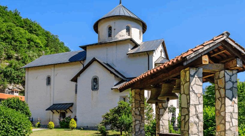 Достопримечательность Колашина - Монастырь Морача