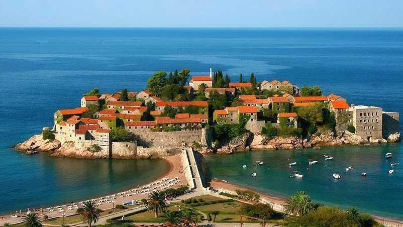 Черногория - популярные места