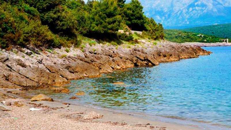 Пляж Облатно в Радовичи
