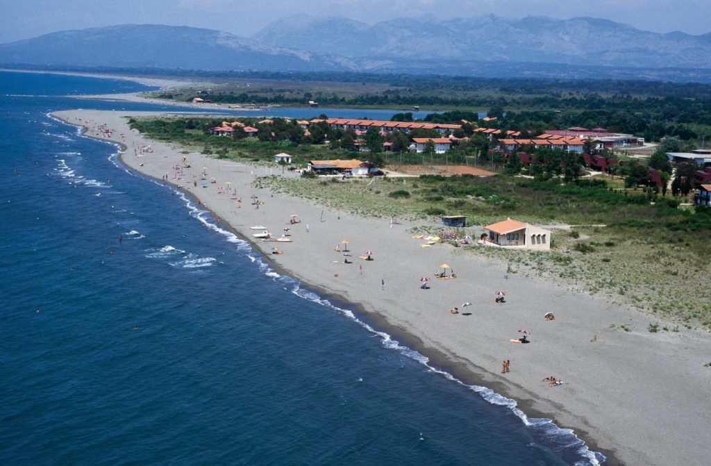 Пляжи в Ульцине - Великий