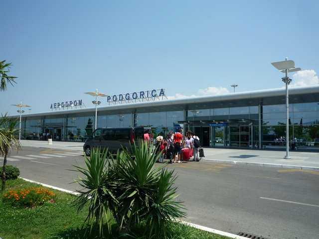 airport podgorica - Аэропорт в Баре