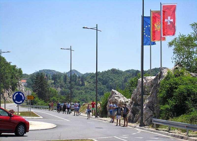 avtostop v CHernogorii - Как добраться из Сутоморе в другие города Черногории