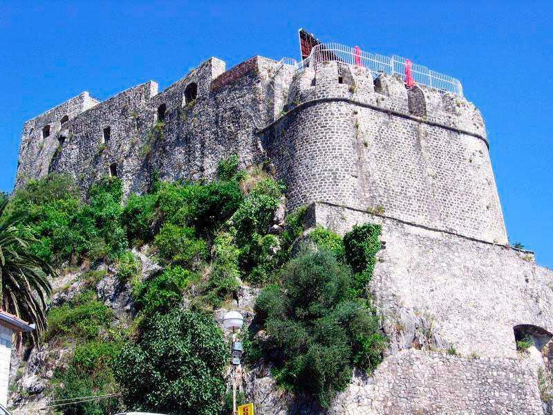 forte mare herceg novi - Морская крепость в Герцег-Нови