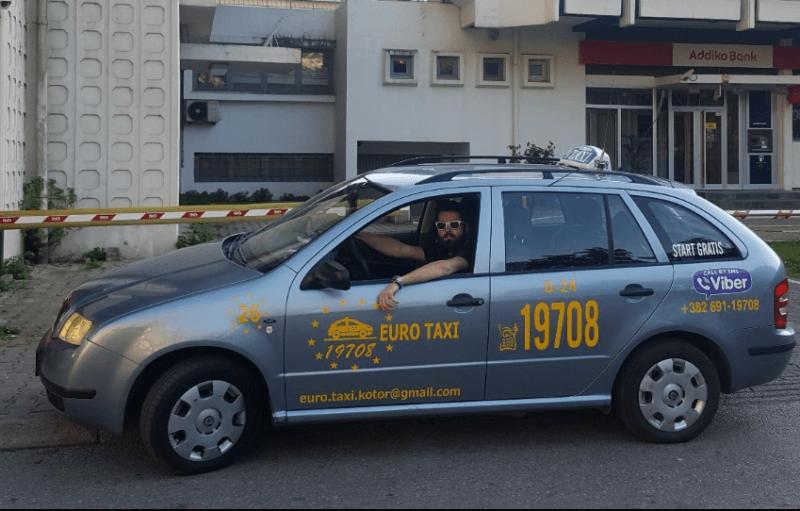 Такси в Которе